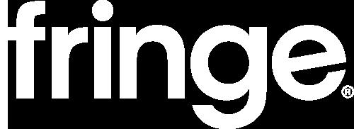 fringe logo white